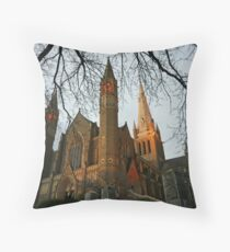 Sacred Heart Cathedral, Bendigo Throw Pillow
