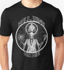 D20 Reaper - Roll High or Die d&d - Dungeons & Dragons Slim Fit T-Shirt