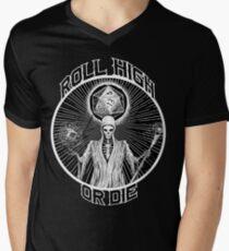 D20 Reaper - Roll High or Die d&d - Dungeons & Dragons Men's V-Neck T-Shirt