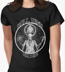 D20 Reaper - Roll High or Die d&d - Dungeons & Dragons Women's Fitted T-Shirt