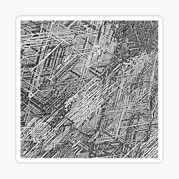 Crystalline Spaces Sticker