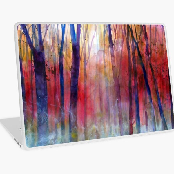 Il bosco dei sussurri Laptop Skin