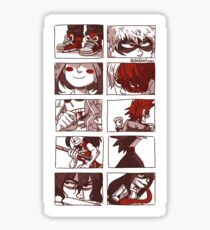 Bnha Class 1a Stickers Redbubble