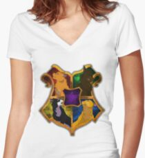 Warrior Cats Women's Fitted V-Neck T-Shirt