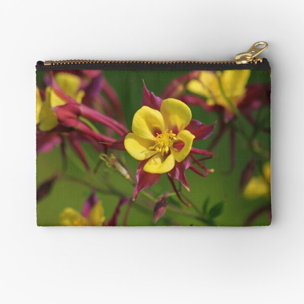 Colourful Garden Zipper Pouch