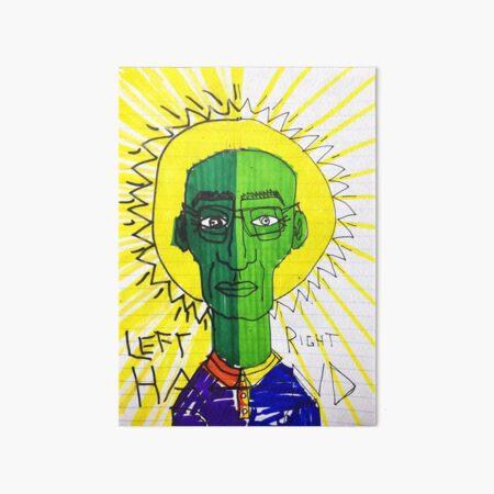 Left Brain Right Brain Art Board Print