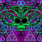 Sorcerer's Skull by Tiduk