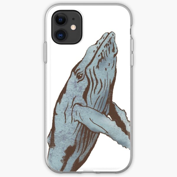 """""""Lineage"""" Whale iPhone Soft Case"""