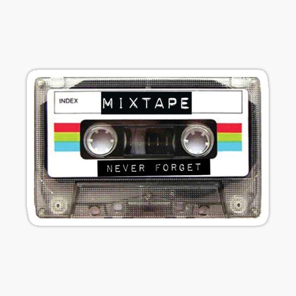 Mixtape Never Forget Pegatina