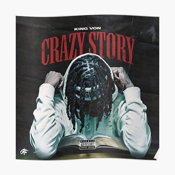 KingVon Crazy Story Album Poster