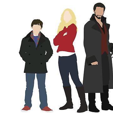 Captain Swan Family by eevylynn
