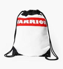 Warrio white Drawstring Bag