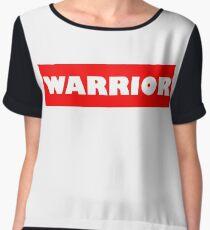 Warrio white Chiffon Top