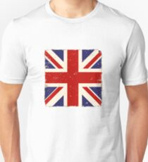 Vintage English Flag Unisex T-Shirt