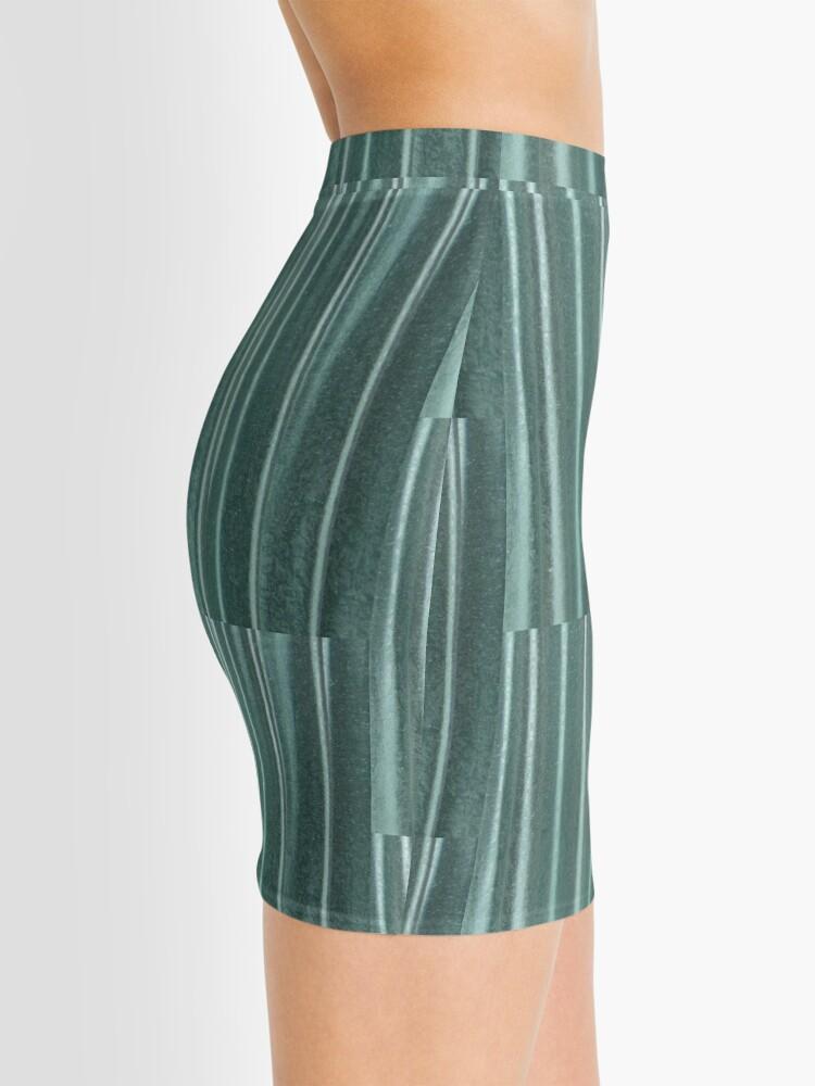 Alternate view of Living in Green Mini Skirt