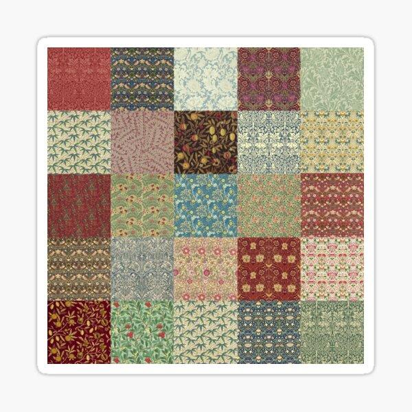 William Morris Pattern Collection Sticker