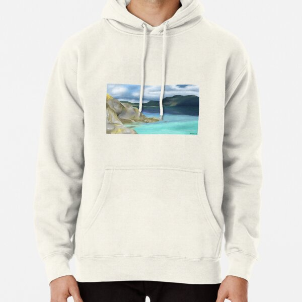 View from Orcas Pullover Hoodie