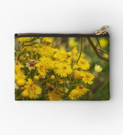 Featherflower in Yellow Studio Pouch