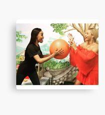 funny mannequin challenge Canvas Print