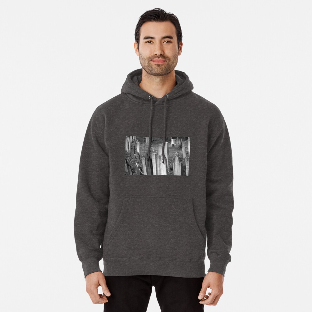 Old Church Yard Pullover Hoodie Front