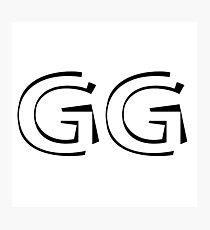 GG Photographic Print