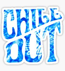 chill out blue~~~~~~~~~ Sticker