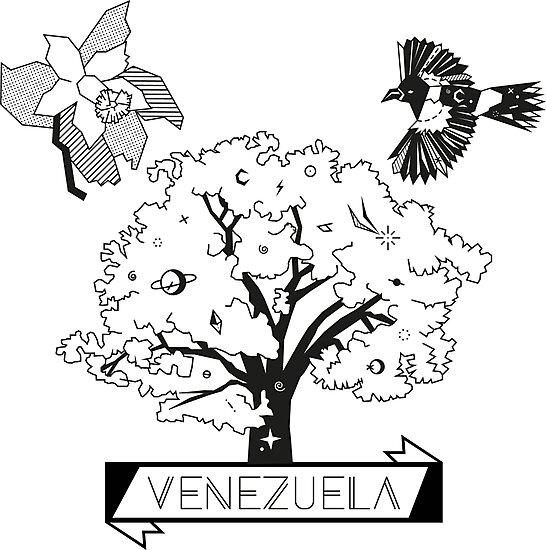 Dibujos De La Orquidea El Araguaney Y El Turpial Para Colorear | quot orquidea turpial y araguaney quot photographic prints by ccrespodesign ccrespodesign redbubble