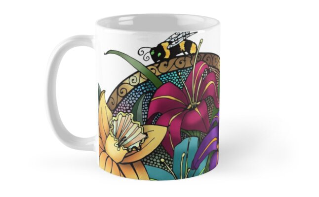 Daffodils & Daylilies by CelePencil