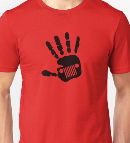 Jeep Wrangler JK Hand Wave Unisex T-Shirt
