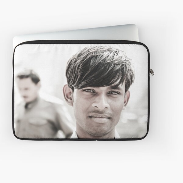 Portrait of a Young Man in Delhi Laptop Sleeve