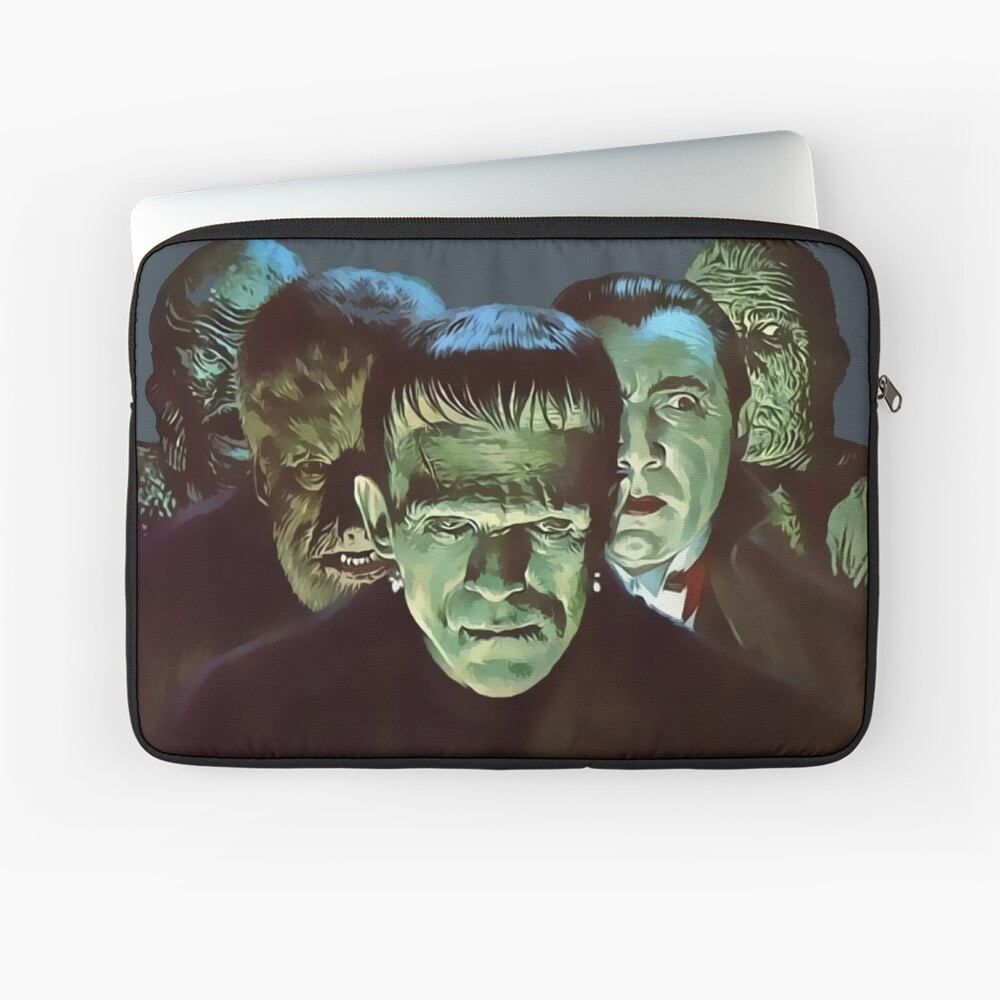 Gang of Monsters  Laptop Sleeve