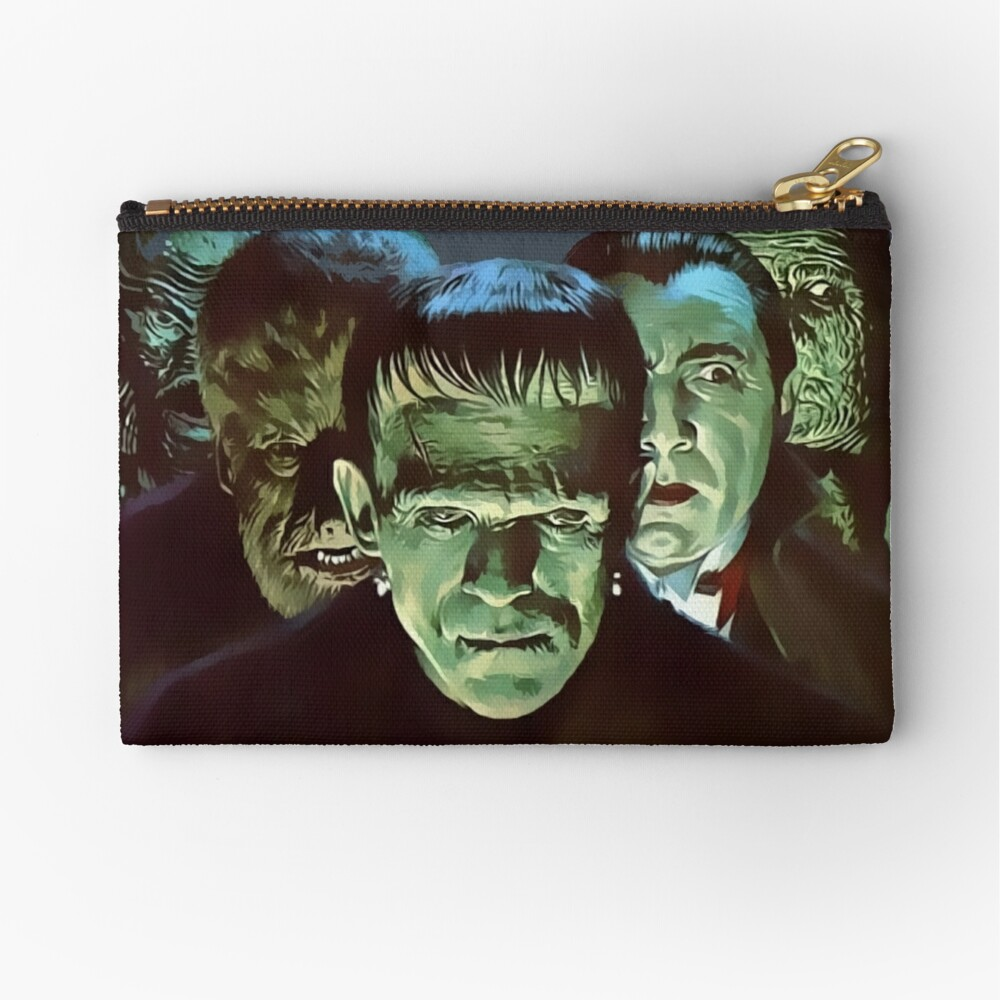 Gang of Monsters  Zipper Pouch