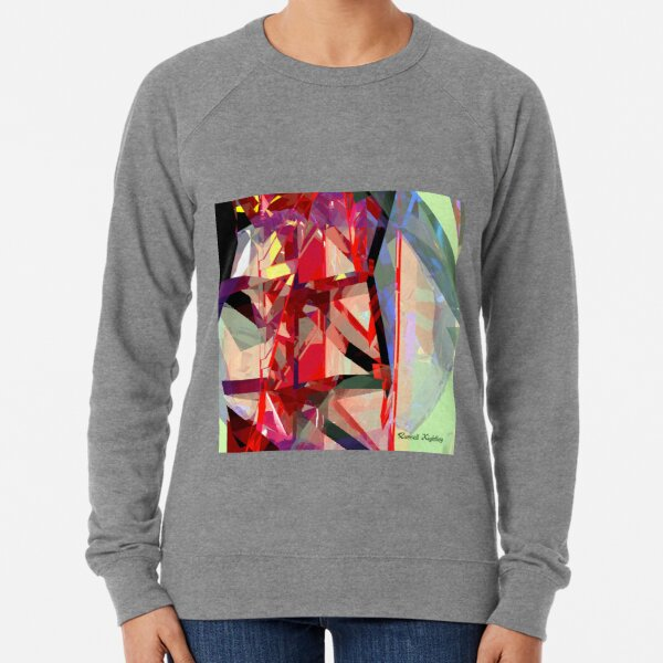 Red Tower Lightweight Sweatshirt