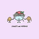 Spaghetti and Meatballs by ManlyDesign