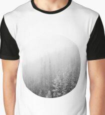 White Forest Wanderlust Graphic T-Shirt