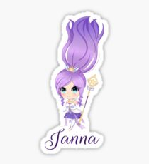 Star Guardian Janna Sticker