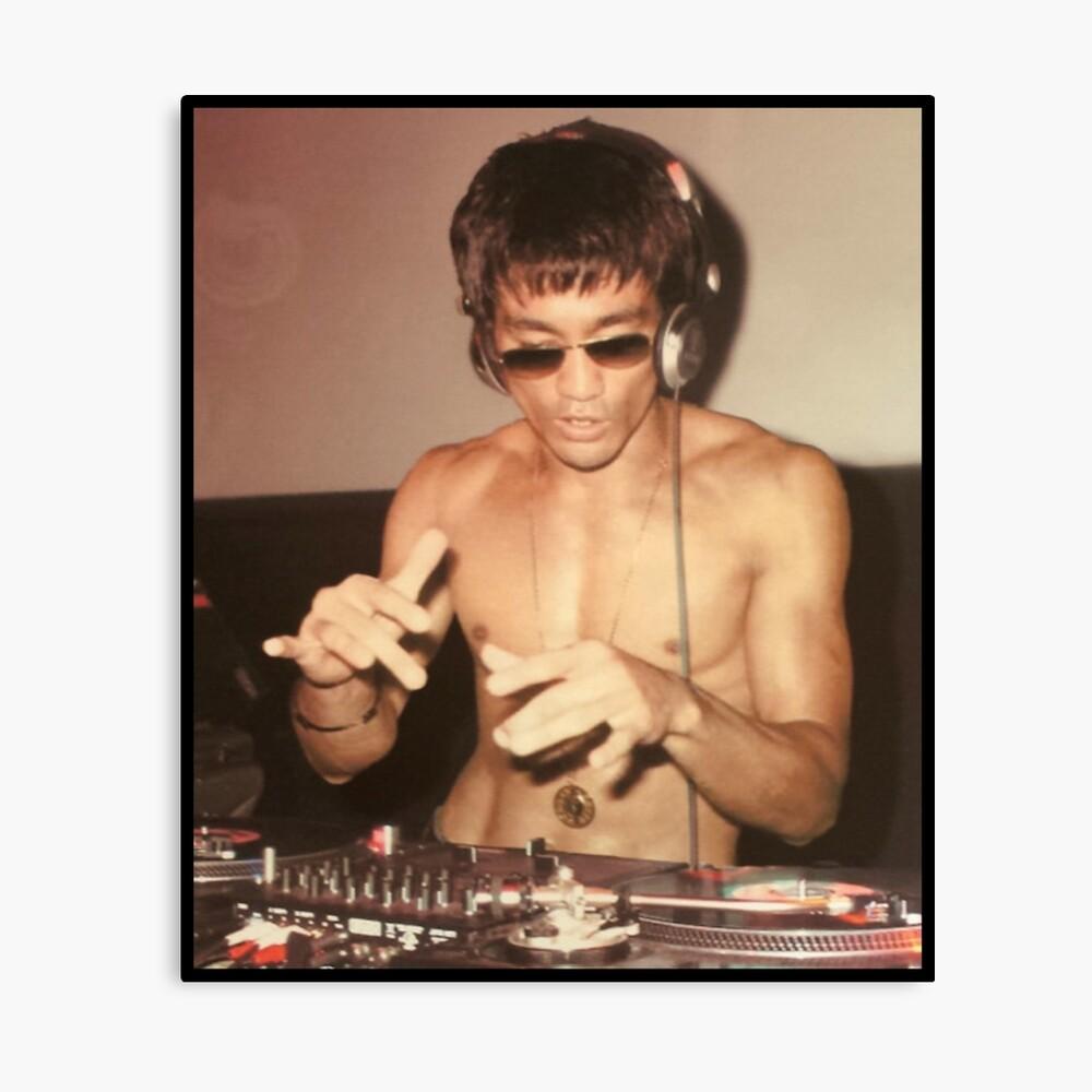 DJ Leinwanddruck