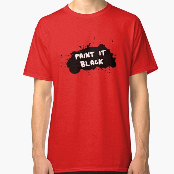 The Rolling Stones - Paint it Black Classic T-Shirt
