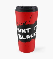 The Rolling Stones - Paint it Black Travel Mug