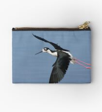 Black Necked Stilt Studio Pouch
