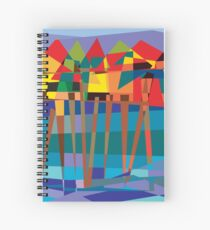 Habitat-Houses on Stilts Spiral Notebook