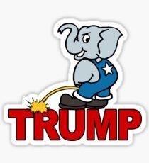 Republicans Dislike Trump Sticker