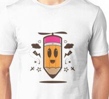 Fly Pencil Vector Unisex T-Shirt
