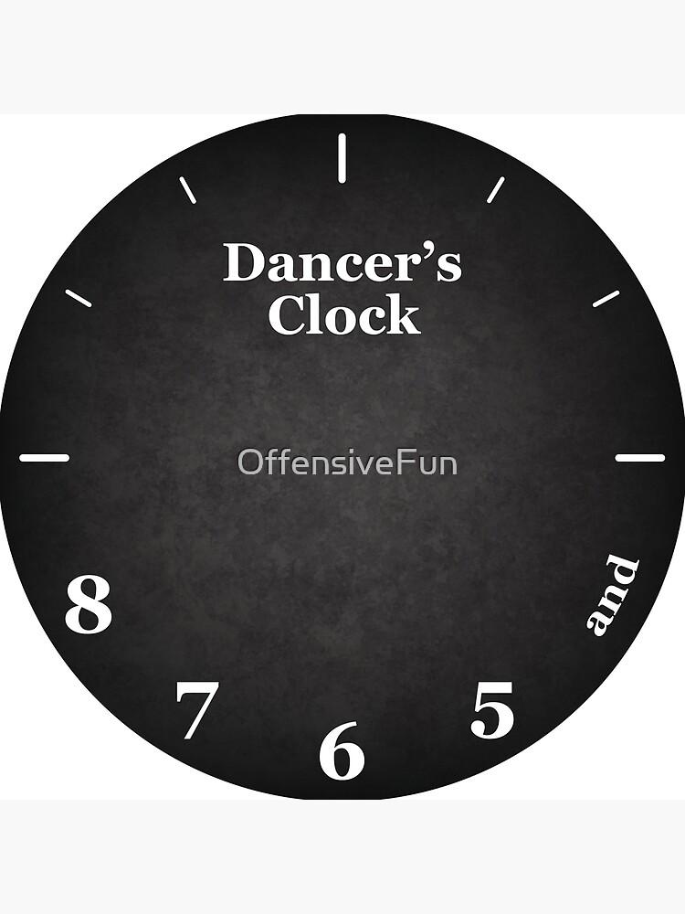 Dancer's Clock by OffensiveFun