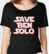 Save Ben Solo - alt Women's Relaxed Fit T-Shirt