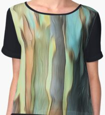 Abstract colours of the Bush Women's Chiffon Top