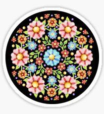 Millefiori Floral Sticker