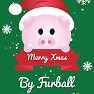 Furball - Rose Xmas by LorielDesign