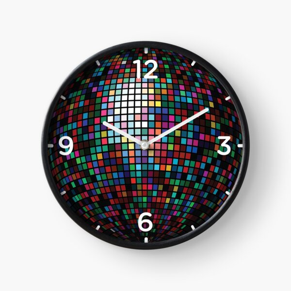 Disco Ball Clock