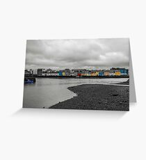 View of Galway Harbour Greeting Card